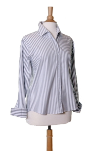 Easycare Grey Bengal Stripe