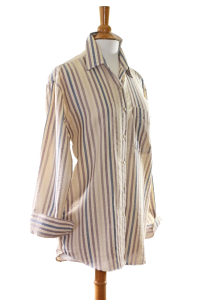Beige/Brown Stripe