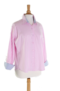 Easycare Pink Check