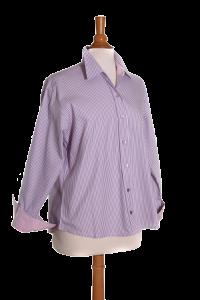 Easycare Purple Stripe/Pink Contrast